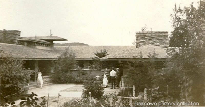 Taliesin II living quarters, approximately 1922