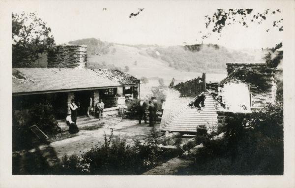 Taliesin August 1914 after first fire