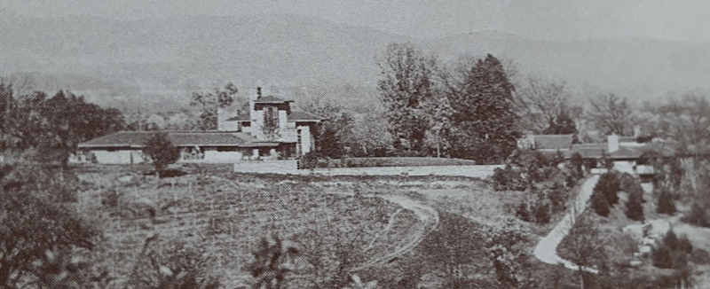 Taliesin from the south. circa 1920