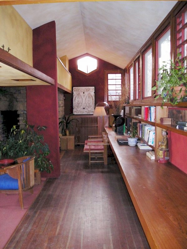 """""""Front Office"""" at Taliesin, March 2004"""